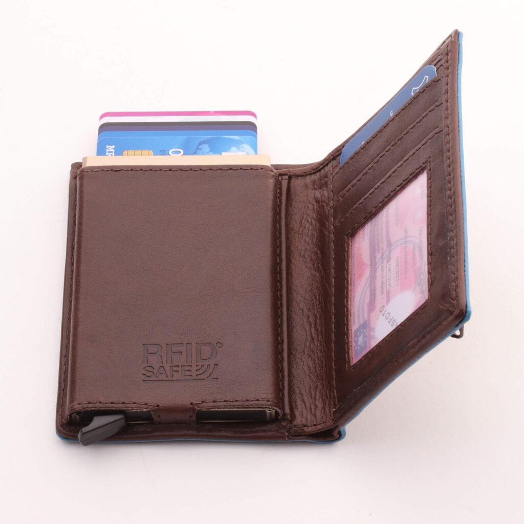KAKER GAZ Billfold portemonnee heren met card protector