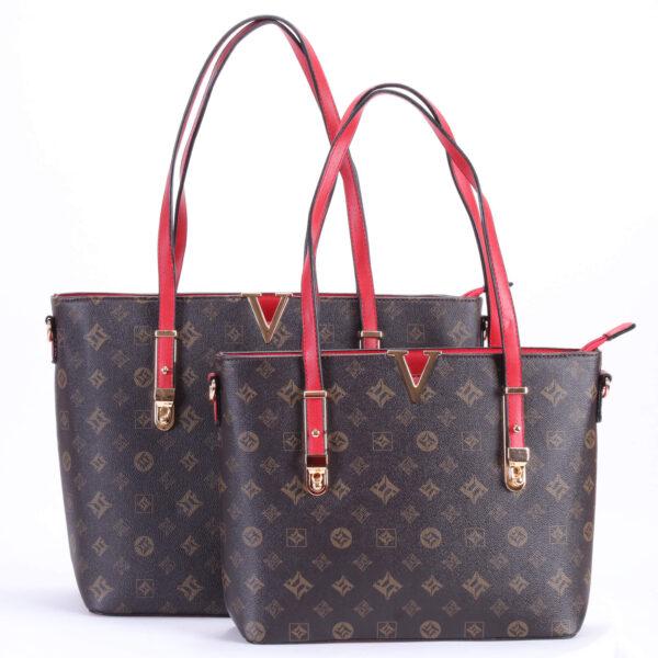 redist Dames handtas met ronde hengsels